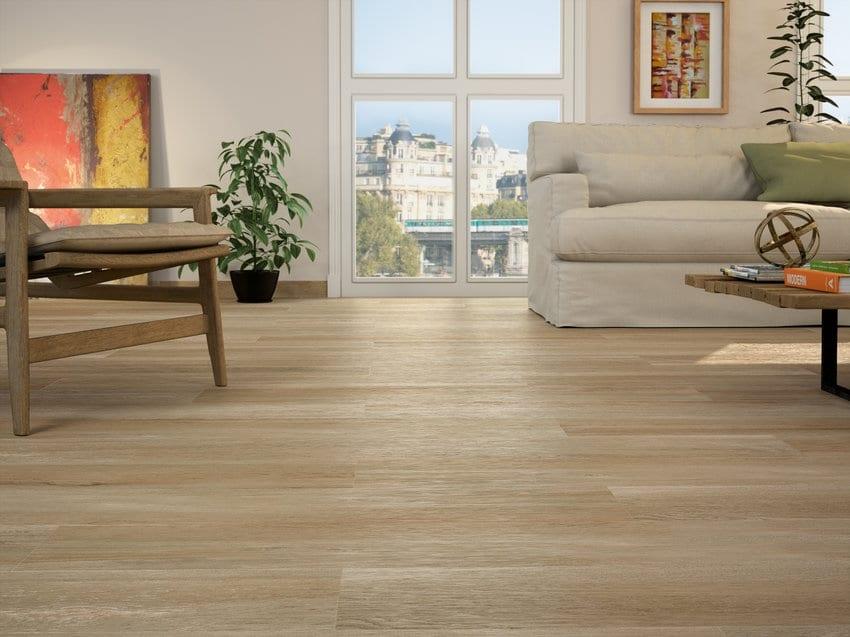 Tevere imitacion madera con acabado mate formato 20x114 - Suelo rectificado ...