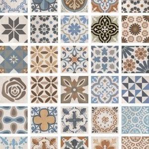 Ninive Mezcla Azulejos Hidráulicos 15×15