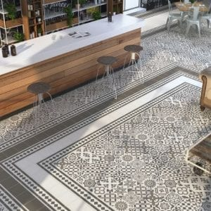 Serie ANTIGÜA suelo hidraulico antiguo