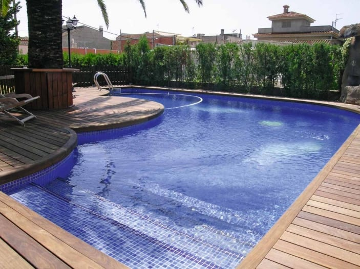 Gresite azul piscina malla gresite for Gresite piscina precio m2