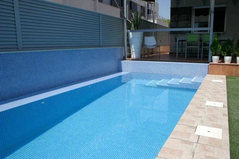 Gresite azul claro malla gresite - Gresite para piscinas precios ...