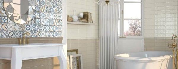 Azulejo de Metro Serie BULEVAR para baños y cocinas