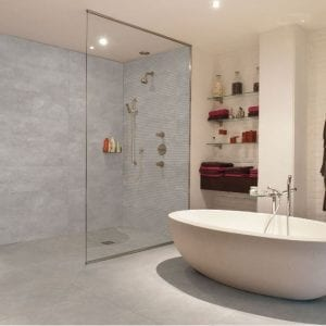 Revestimiento baños Serie Estuco