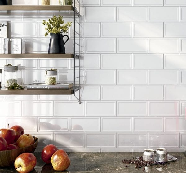 AMBIENTE IN METRO WHITE 10X20