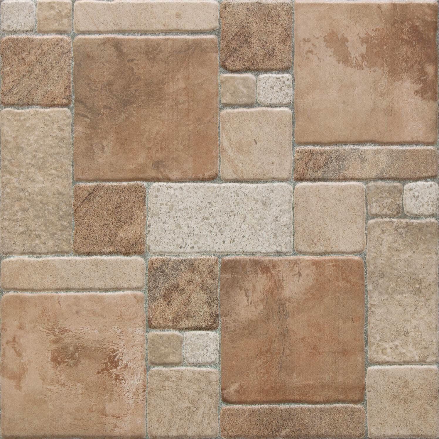 Serie monterrey azulejo de gres antideslizante en formato for Ceramica exterior
