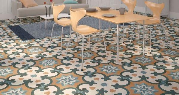 azulejos hidraulicos Serie VALERIA