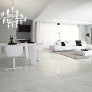 Serie CALACATTA - suelo porcelanico imitacion marmol