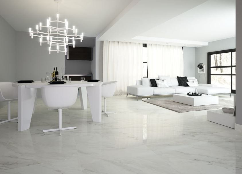 Serie calacatta porcel nico imitaci n m rmol suelo for Porcelanico imitacion marmol