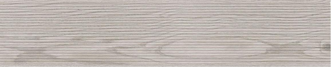 Porcelánico imitación madera CEIBA GRIS GROOVE 23X120 Antideslizante