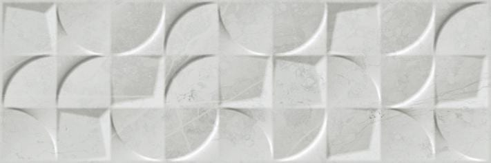 Revestimiento Pasta blanca imitación mármol RELIEVE ALTAMURA WALL SILVER 30X90 Rectificado