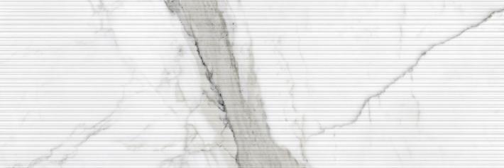 Revestimiento Pasta blanca imitación mármol RELIEVE STATUARIO MATE 40x120 rectificado