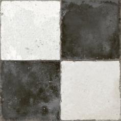 Pavimento imitación hidráulico FS DAMERO-N 45x45 Mate
