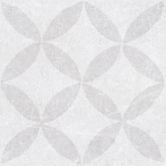 Porcelánico imitación hidráulico MATERIA DECOR ETANA WHITE 20X20 Mate