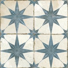 Pavimento imitación hidráulico FS STAR BLUE 45x45 Mate