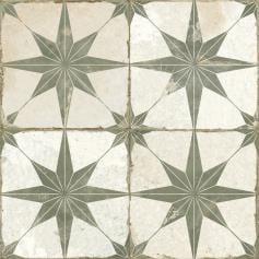 Pavimento imitación hidráulico FS STAR SAGE 45x45 Mate