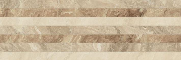 Revestimiento Pasta roja imitación mármol NAIROBI LINEE BROWN 28x85 Brillo