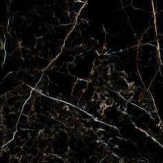 Porcelánico imitación mármol PORTLOREN BLACK 120X120 rec. Pulido