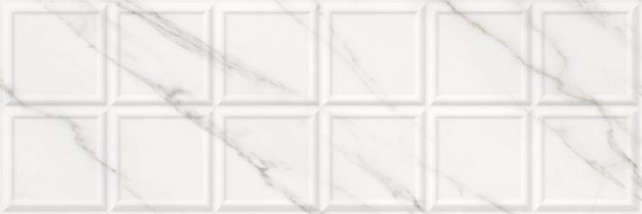 Revestimiento Pasta blanca imitación mármol RELIEVE BARI DUCALE 30X90 rec. Brillo