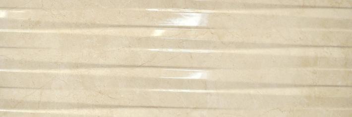 Revestimiento Pasta blanca imitación mármol RELIEVE CREMA MARFIL 30x90 Rec. Brillo