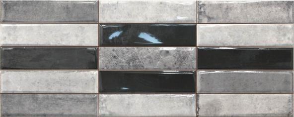 Revestimiento imitación hidráulico SMART MONTBLANC PEARL 20X50 Brillo