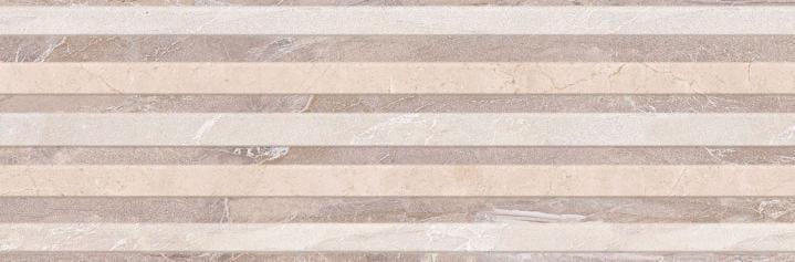 Revestimiento Pasta roja imitación mármol VERSALLES BEIGE DECOR SILAS 25x75 Brillo