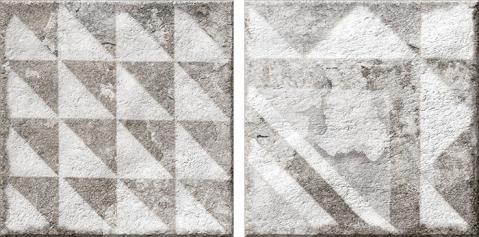 Porcelánico imitación hidráulico ANTIQUE SAND 15.4x15.4 Satinado