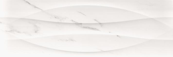 Revestimiento Pasta blanca imitación mármol RELIEVE DOZZA WHITE 40x120 rec. Brillo