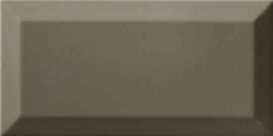 Azulejo metro biselado DARK GREY BRILLO 7.5x15