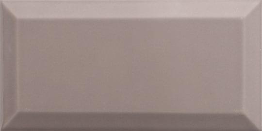 Azulejo metro biselado MOKA BRILLO 7.5x15