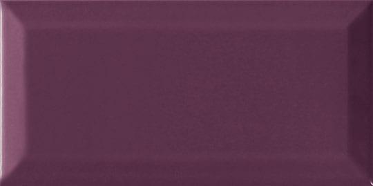 Azulejo metro biselado PLUM BRILLO 7.5x15
