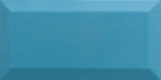 Azulejo metro biselado TEAL BRILLO 7.5x15