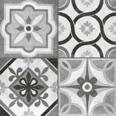 Porcelánico imitación mármol HERITAGE MONO 45X45 Mate