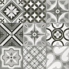 Porcelánico imitación mármol HERITAGE MONO 60X60 Rectif. Mate