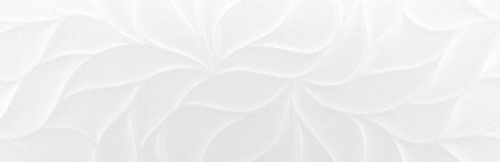 Revestimiento BLANCO MATE-LEAVES STRYN 30X90 Rectificado