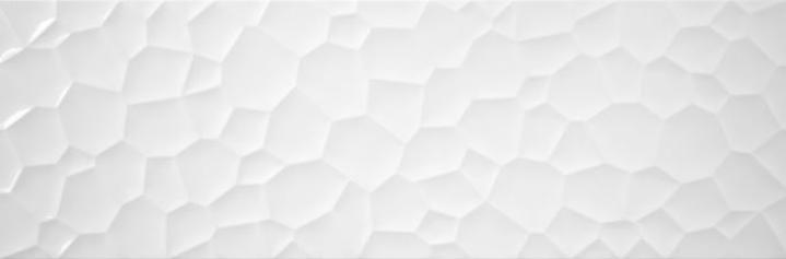 Revestimiento BLANCO BRILLO-PRISMA 33.3X100