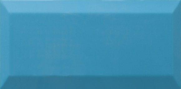 Azulejo metro biselado TEAL BRILLO 10X20