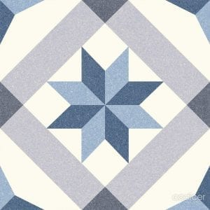 Serie Riviera – Menton Blue