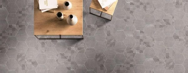 Ambiente Hex 25 Atlanta Geo Grey- Hex 25 Atlanta Grey 2