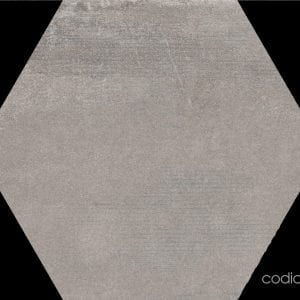 Hex 25 Atlanta Grey Hexagonal 22×25
