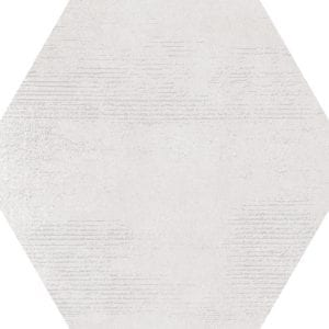 Hex 25 Atlanta White Hexagonal Variedad 2 22×25