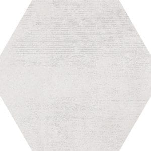 Hex 25 Atlanta White Hexagonal Variedad 3 22×25