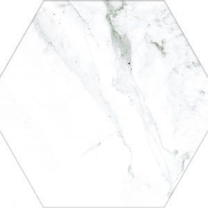 Hex 25 Calacatta Hexagonal Variedad 2 22×25