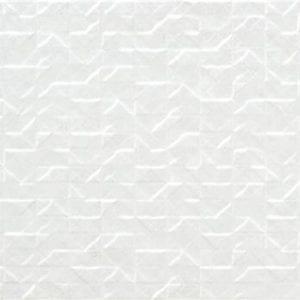 Pasta Blanca Amalfi Mosaic Blanco mate 33.3×90