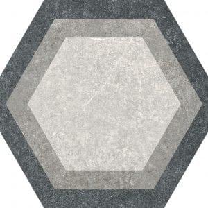 Traffic Combi Mix Hexagonal Variedad 1 25×25