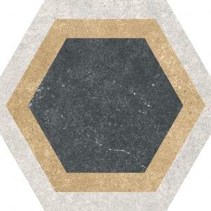 Traffic Combi Mix Hexagonal Variedad 3 25×25