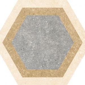 Traffic Combi Mix Hexagonal Variedad 4 25×25