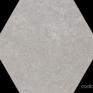 Traffic Grey Hexagonal 22×25
