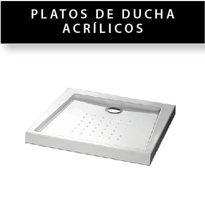 Plato de ducha acrílico