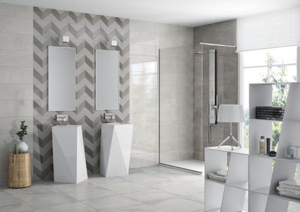 Ambiente Decor trace white 25×60