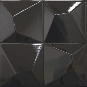 Vertex Line Black 15×15
